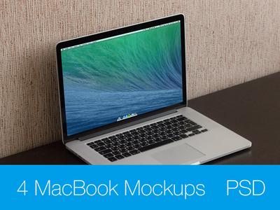 MacBook Pro Retina 15 Mockup