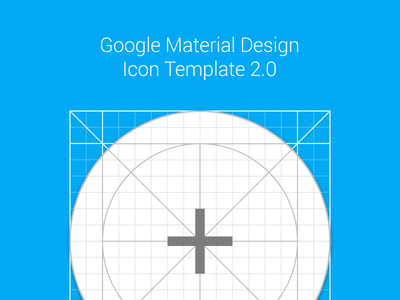 Material Design Icon Template