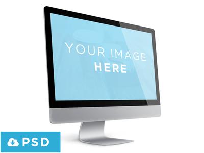 Showcase Mac Screen Template