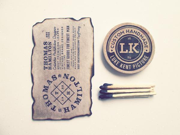 Vintage Logo MockUp PSD #3