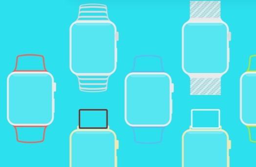 Apple Watch Line Template