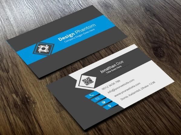 Best Business Card Mockups For Free Download Edition - Business card template free download