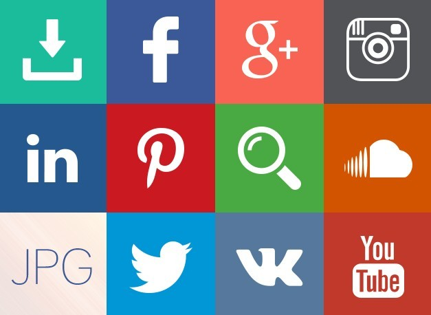 Gif Social Media Icons