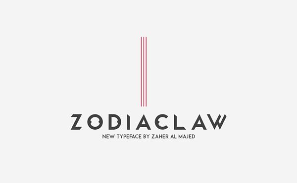 Zodiaclaw ( Free Font )