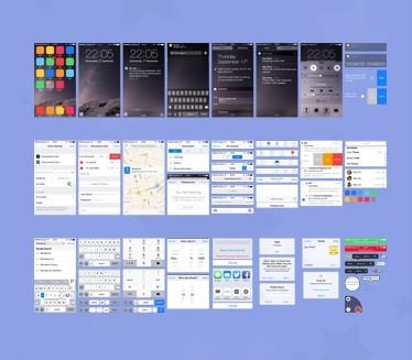 iOS 8 UI