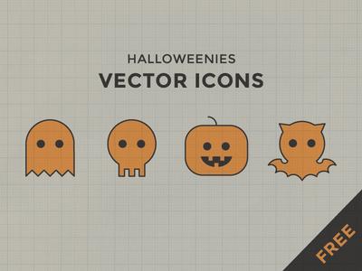 Halloweenies free icons