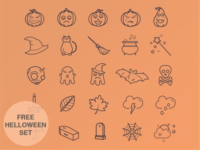 Helloween Icon Set