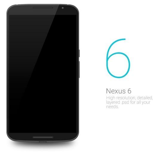 Nexus 6 PSD