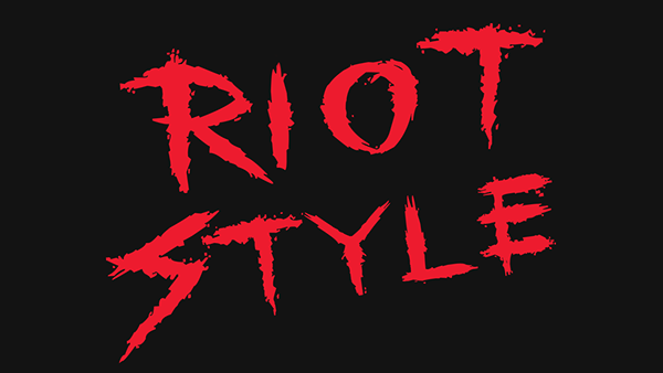 Riot Style Free font