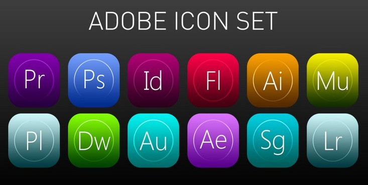Adobe Icon Pack