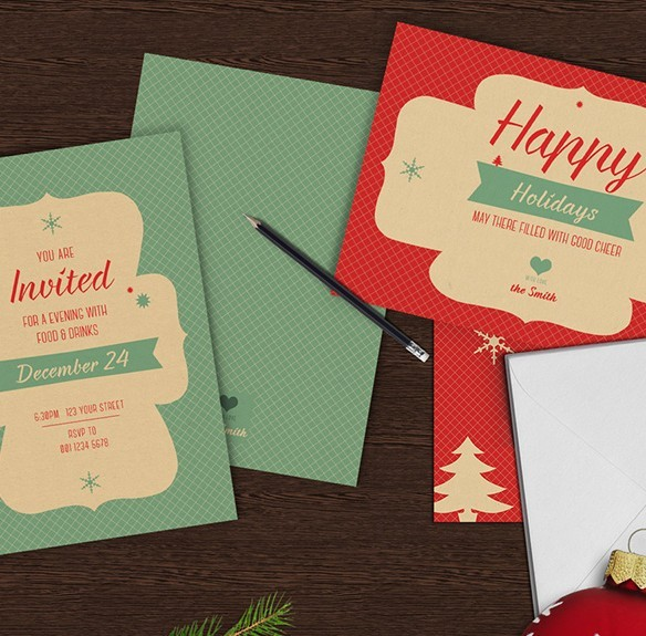 Christmas Greeting Card Set