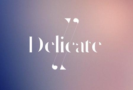 Delicate Typeface