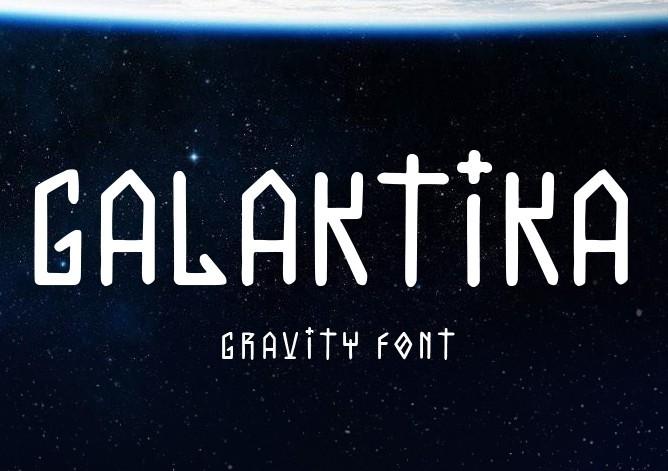 Galaktika typeface