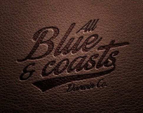 Leather Logo Mock-up