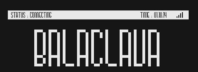 Balaclava Font