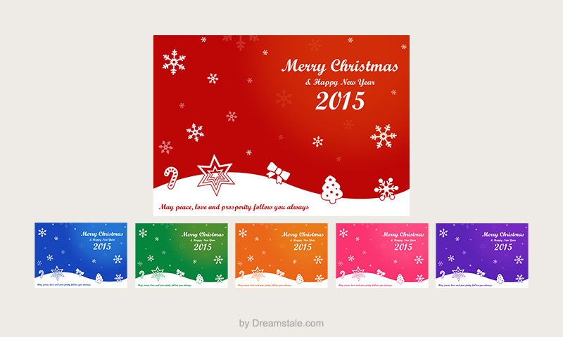 Christmas Card Vectors