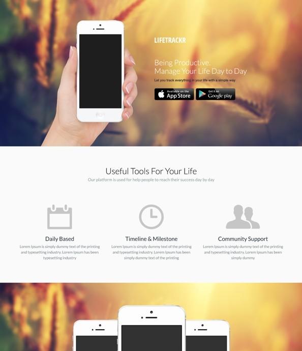 LifeTrackr - App Theme