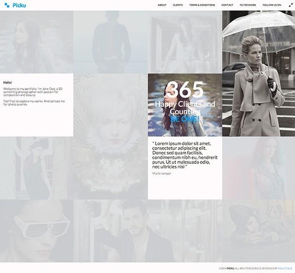 Picku - Free HTML Template