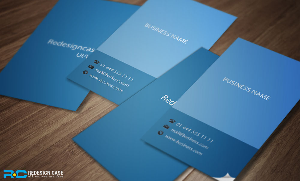 5 FLAT BUSINESS CARDS