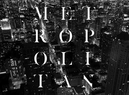 Metropolitan Typeface