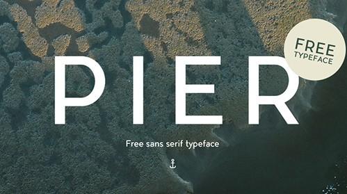 PIER Typeface