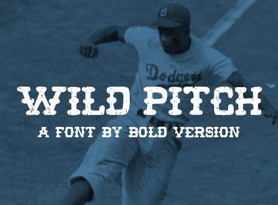 Wild Pitch Free Font