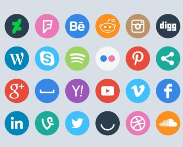 10+ Best Rounded Social Media Icons For Free Download (2019 Update