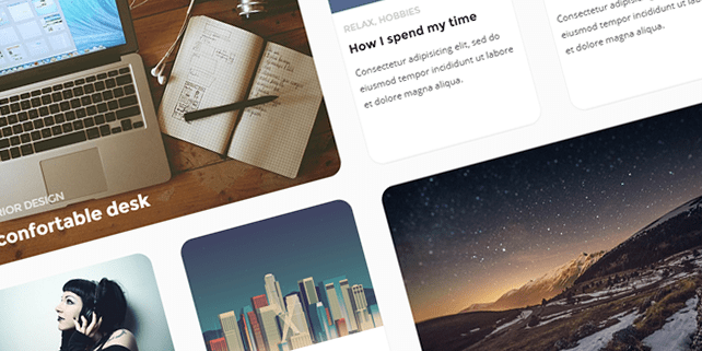 Beetle – responsive HTML template with parallax