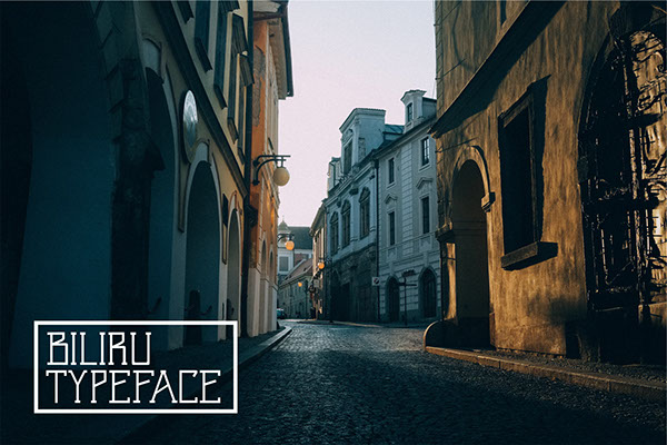 Biliru Typeface (FREE)