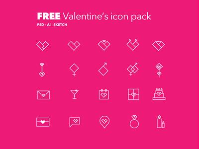 FREE Valentine's Icon Pack