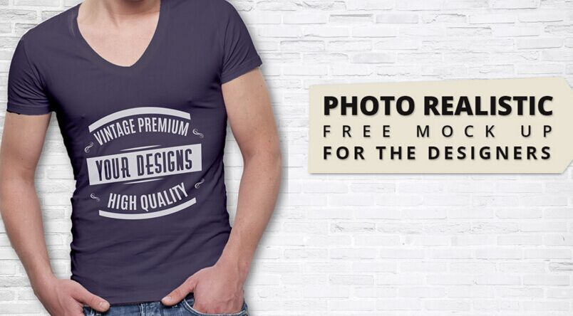 Premium Quality T shirt Mock Up Free Download
