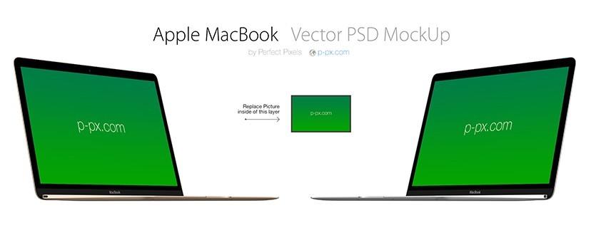 Apple MacBook Mockup