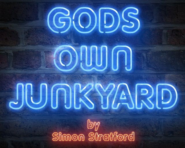 GODS OWN JUNKYARD FONT