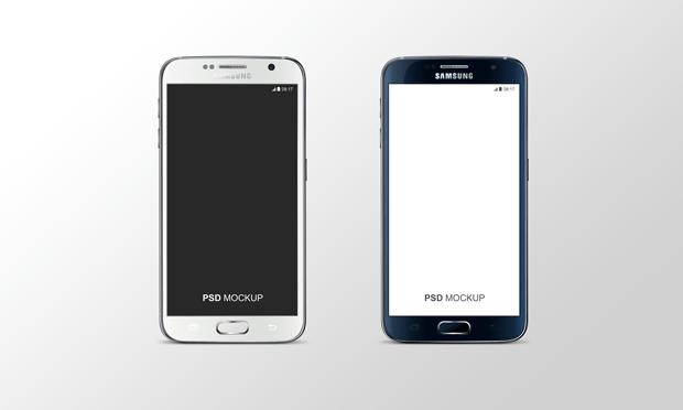 Samsung Galaxy S6 PSD Mock-Up