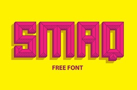 Smaq Typeface