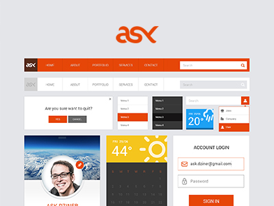ASK FREE UI Kit