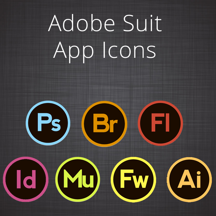 Adobe Suit Icons