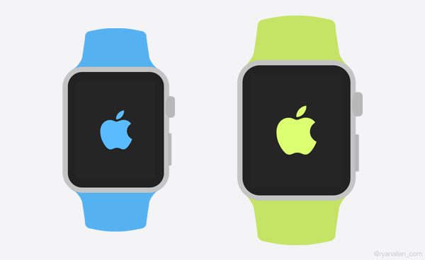 Apple Watch GUI Templates