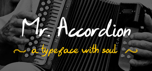 Mr. Accordion Typeface