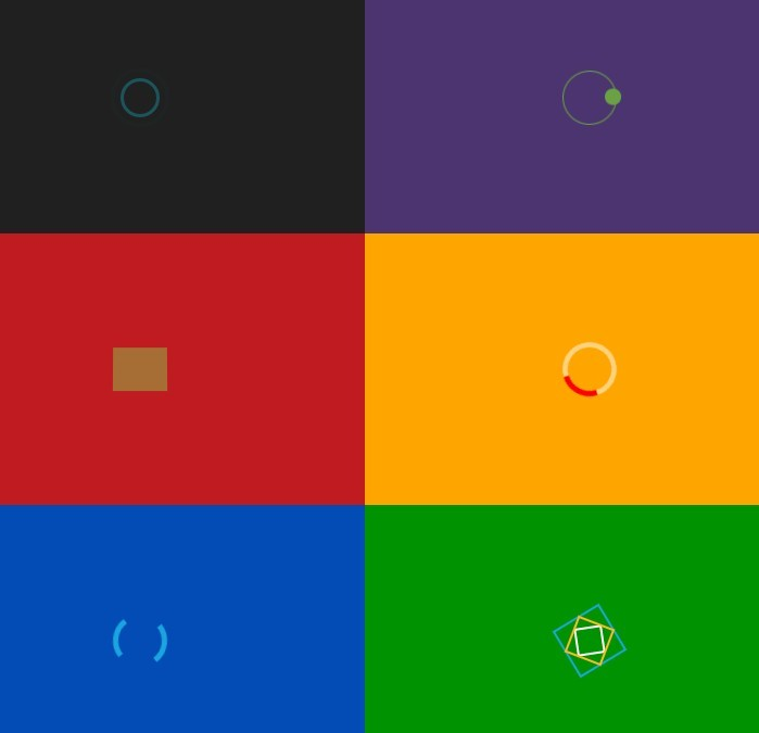Simple CSS Spinners