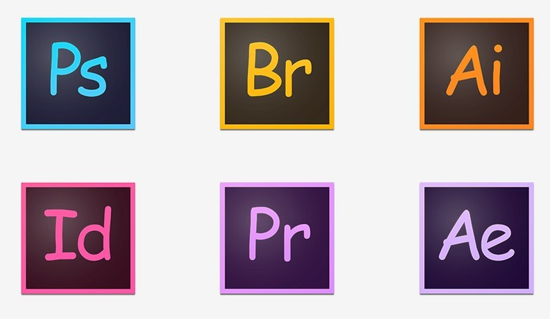 Comic Sans Adobe Icons