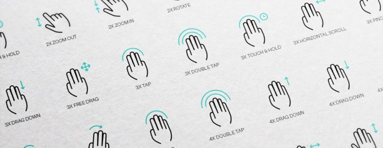 Free Vector Gesture Icons