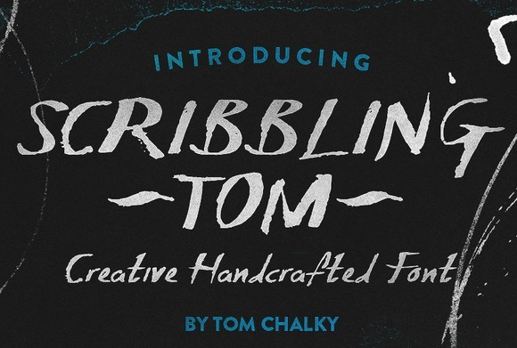 Scribbling Tom - Free Handcrafted Font