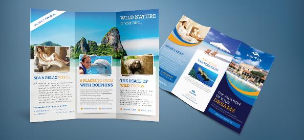 Free PSD Travel Brochure