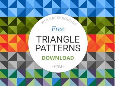 Free Triangle Patterns