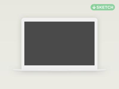 Minimal Macbook Sketch