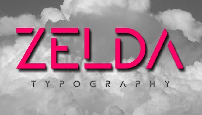 ZELDA Font