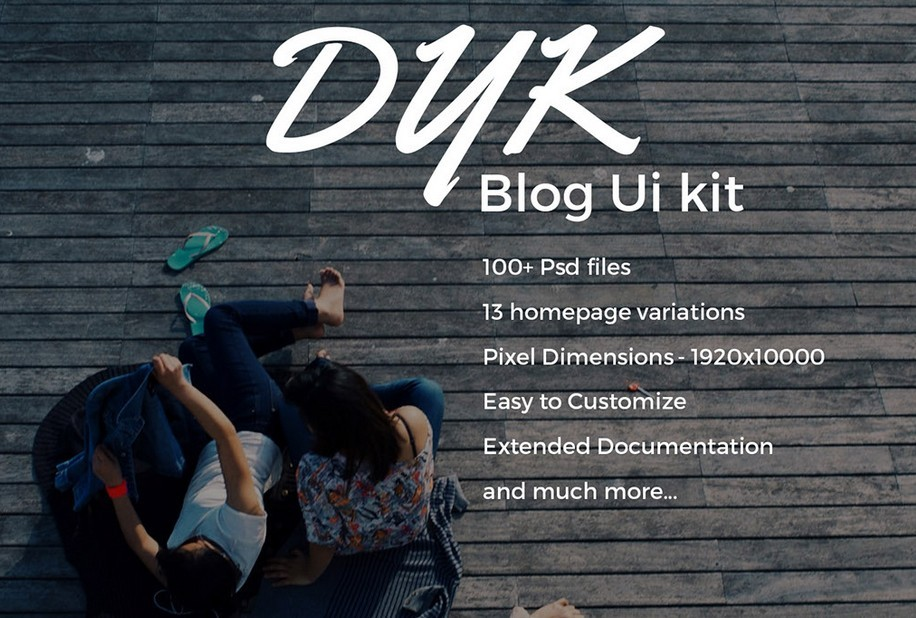 Dyk Blog UI Kit
