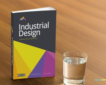 Free Book Cover PSD Mockup