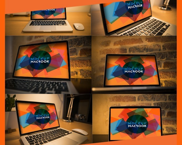 Free Mockup Macbook
